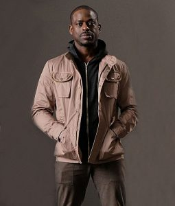 Will Traeger The Predator Sterling K Brown Cotton Jacket