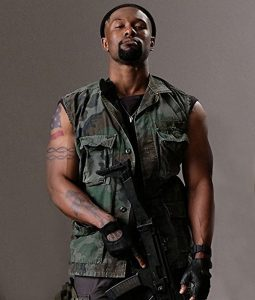 The Predator Trevante Rhodes Army Cotton Vest