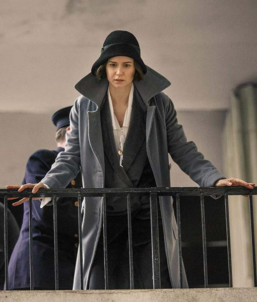 Tina Goldstein Fantastic Beasts Katherine Waterston Grey Coat