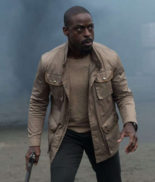 The Predator Sterling K Brown Cotton Jacket