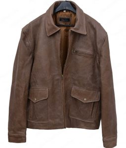 The First Purge Dmitri Leather Jacket