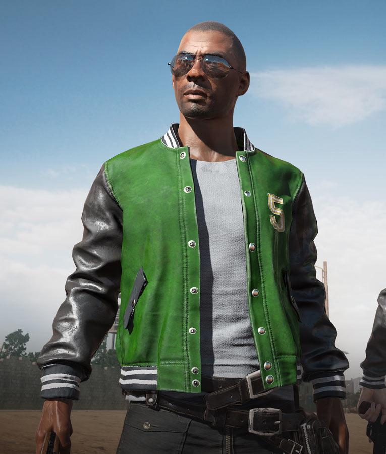 pubg Gaming 5m letterman jacket