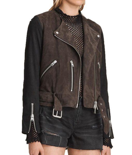 katie-Cassidy-Arrow-Black-Jacket