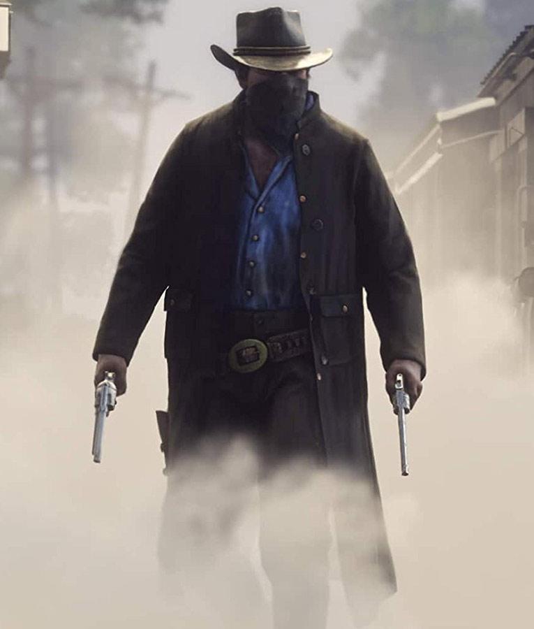 Arthur Morgan Red Dead Redemption II Trench Coat