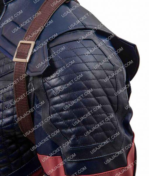 vengers Endgame Captain America Leather Jacket
