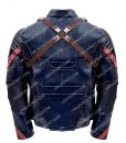 Chris Evan Avengers Endgame Captain America Leather Jacket