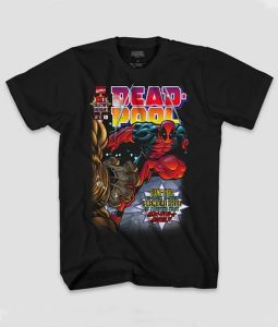 Mens Deadpool Short-Sleeve T-shirt