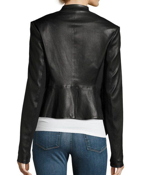Dinah-Drake-Juliana-Harkavy-Black-Drape-jacket
