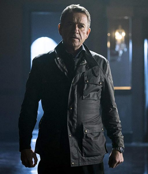Gotham Sean Pertwee Black Jacket