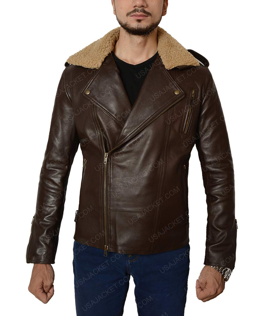 Leather jacket collar types