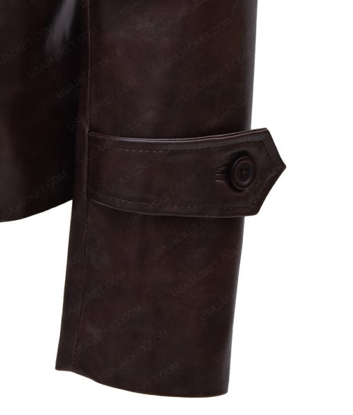 Peggy Carter Leather Brown Jacket