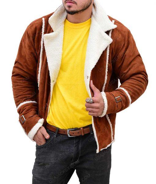 John David Washington BlackKklansman Brown Jacket
