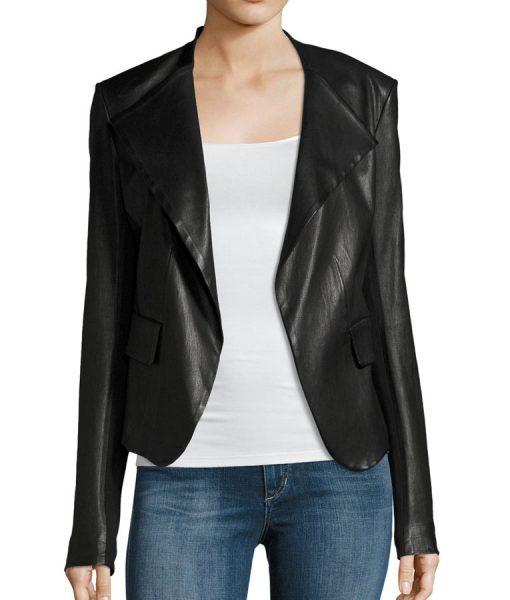 Drape-Leather-Jacket