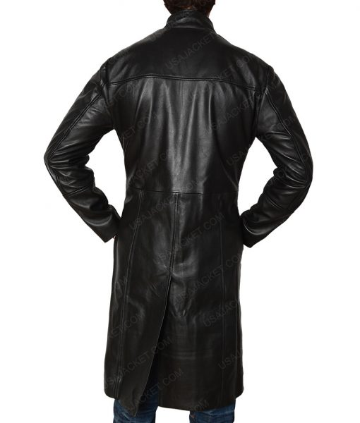 The Matrix Keanu Reeves Neo Slimfit Trench Coat