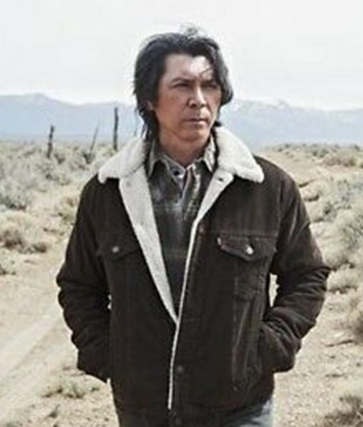 Lou Diamond Phillips Shearling Jacket