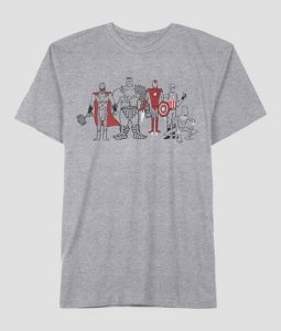 Mens Light Grey T-Shirt