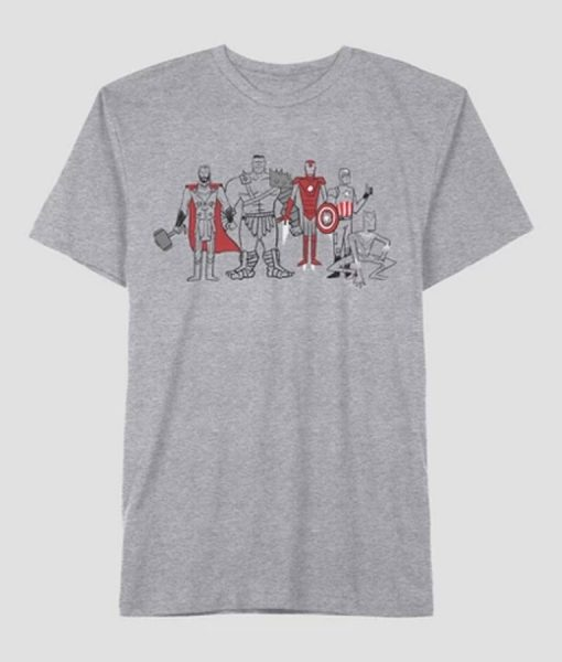 Marvel Grey T-shirt