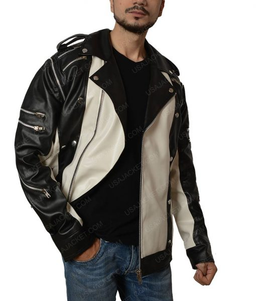 Michael Jackson Black and White Jacket