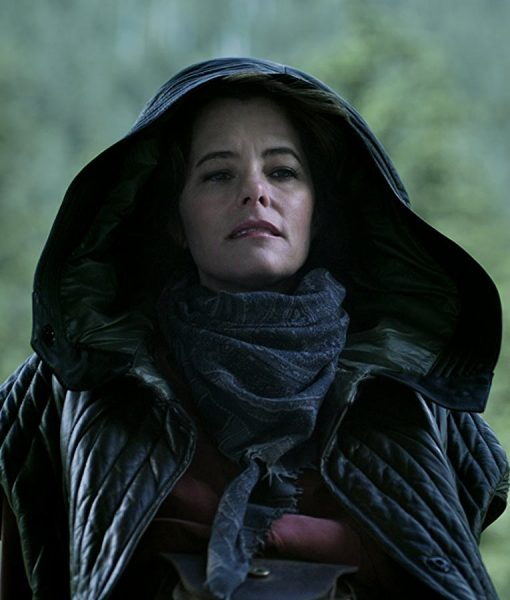 Lost in Space Parker Posey Black Jacket