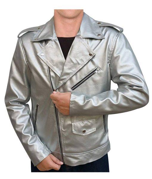 Evan Peters X-men Apocalypse leather jacket