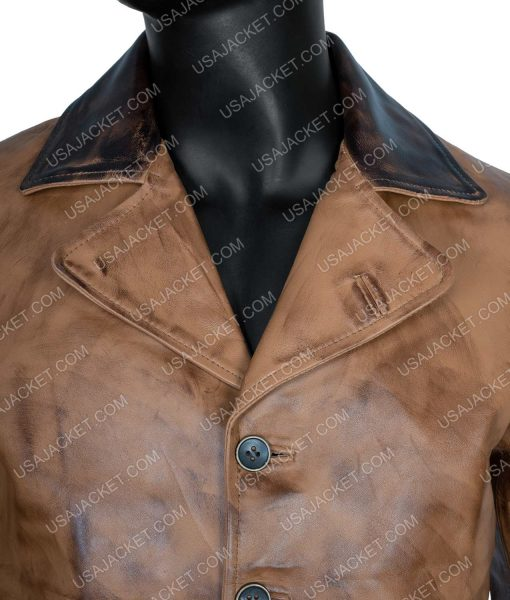 Red Dead Redemption II Arthur Morgan Distressed Leather Jacket
