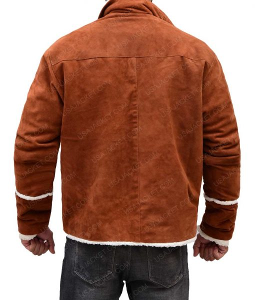 Ron Stallworth BlackKklansman Shearling Jacket