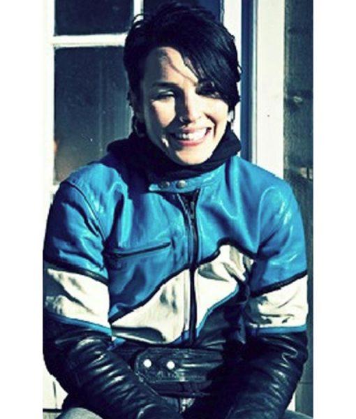 Rooney Mara the Girl with the Dargon Tattoo Biker Jacket