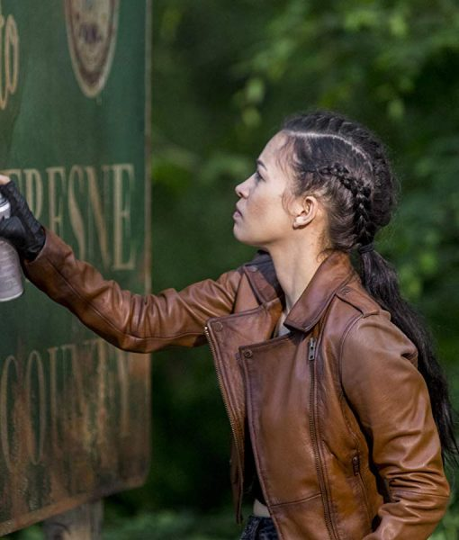 Tv Series The Walking Dead S09 Rosita Espinosa Brown
