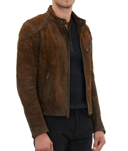 Colton-Haynes-Brown-Suede-jacket