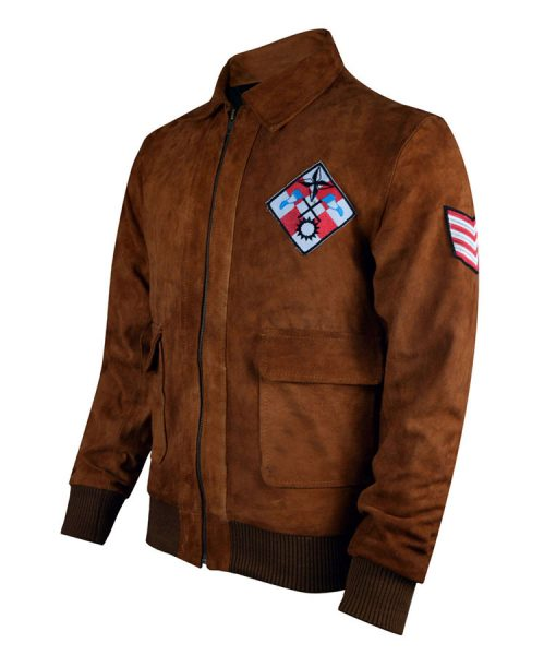 shenmue Brown Bomber jacket