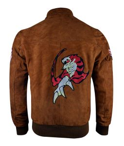 Shenmue Gaming Leather Jacekt