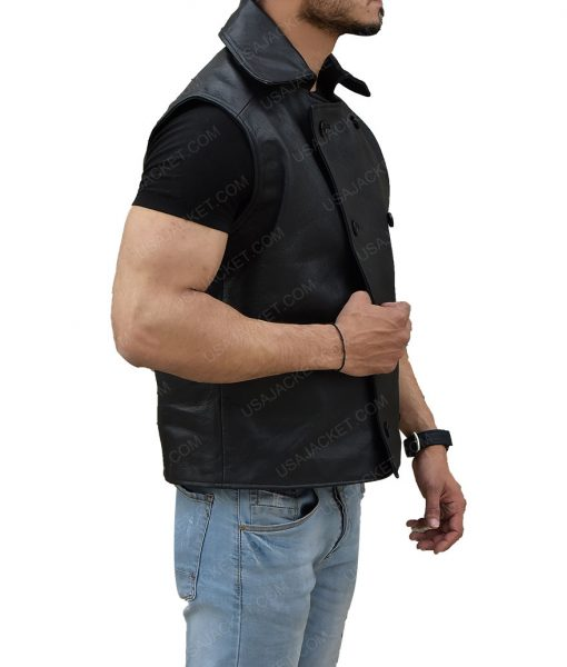 Noir Spider Man Black Vest