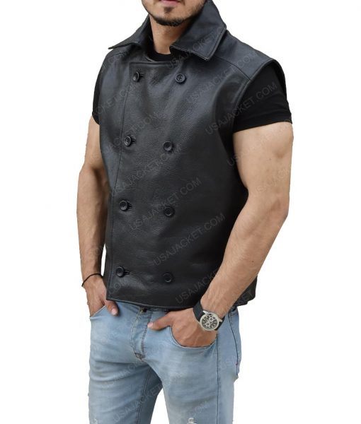 Spider Man Black Vest