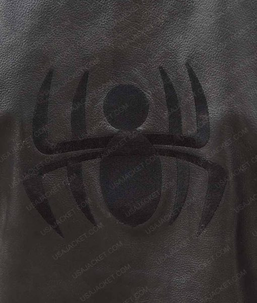 Spider-Man Noir Black LeatheVest