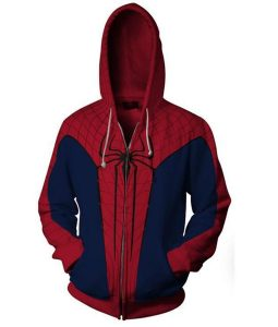 The Amazing Spiderman Pullover Hoodie