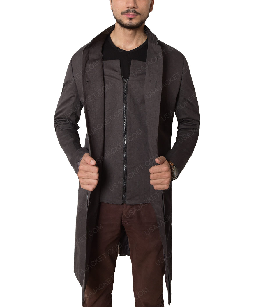 meet 8c47c 0f9c6 The Walking Dead David Morrissey Trench Coat