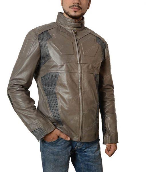 Oblivion Tom Cruise Slimfit Motorcycle Leather Jacket