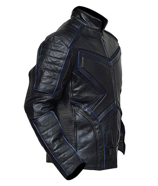 X-Men The Last Stand Black Motorcycle Leather Jacket
