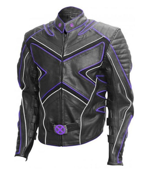X-men 3 Hugh Jackman Biker Jacket