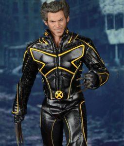 Wolverine Black And Blue Bike jacket
