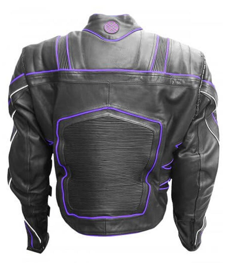 Hugh Jackman X Men The Last Stand Wolverine Leather Motorcycle Jacket