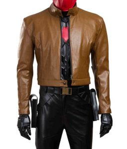 Batman Brown Cropped jacket