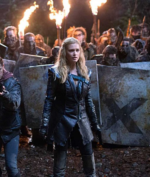 The 100 Eliza Leather Coat