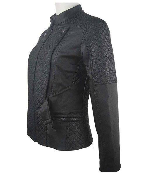 clarke griffin quilted jacket
