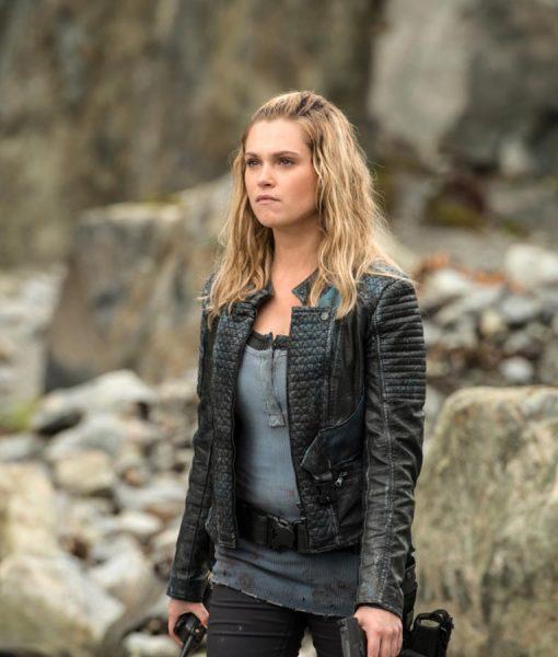 The 100 S05 Eliza black Jacket