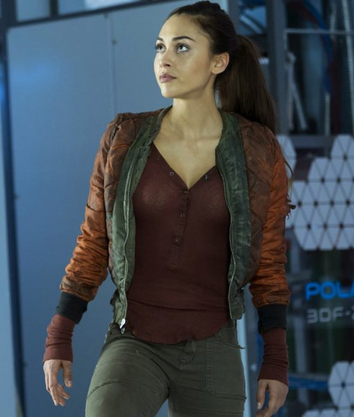 Lindsey Morgan The 100 Jacket