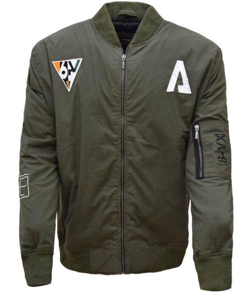Pilot Titanfall 2 Green Bomber Jacket