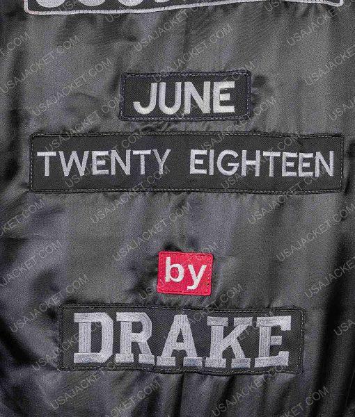 Scorpion Drake June Twenty Eighteen Bomber Satin Jacket