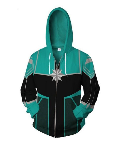 Team Captain Marvel Hoodie