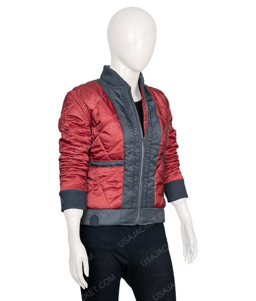 Raven Reyes leather jacket